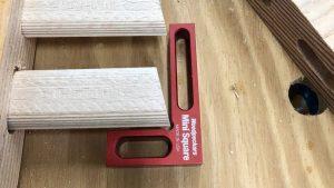 Woodpeckers Mini Square