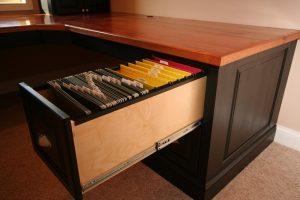 Custom Wood Desk