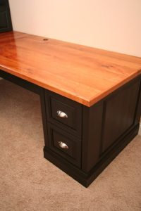 Custom Wood Office Desk