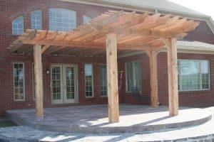 Fulton Fine Woodworks Custom Pergola