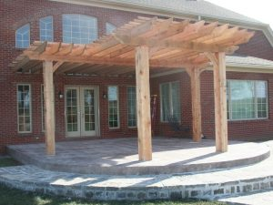 Fulton Fine Woodworks Pergola
